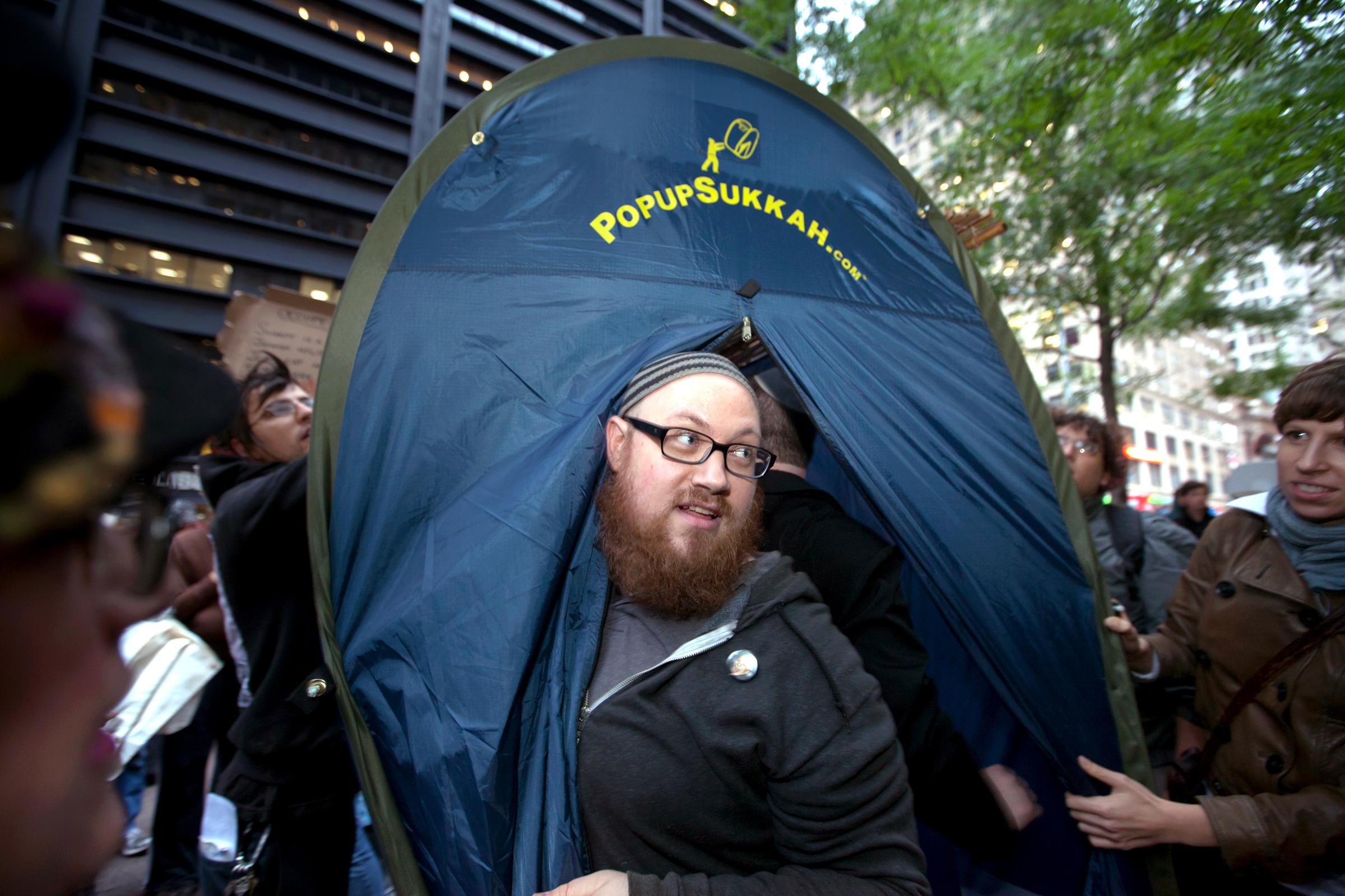 Daniel Sieradski at OWS