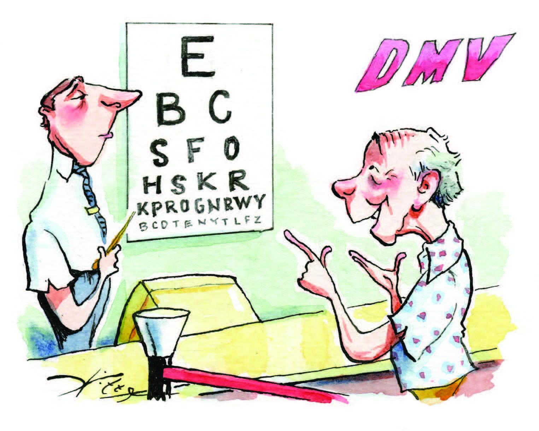 Article « The Eye Test Joke « Commentary Magazine