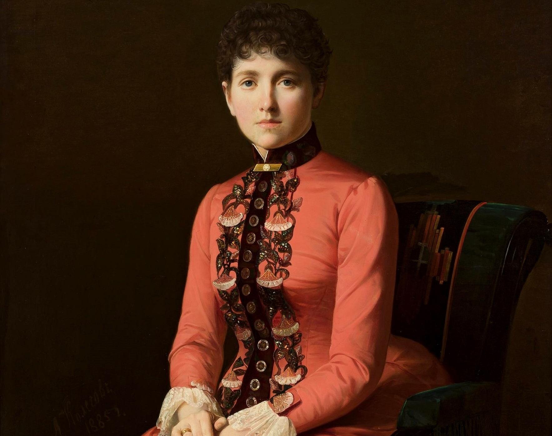 Kolesov portrait of Anna Karenina