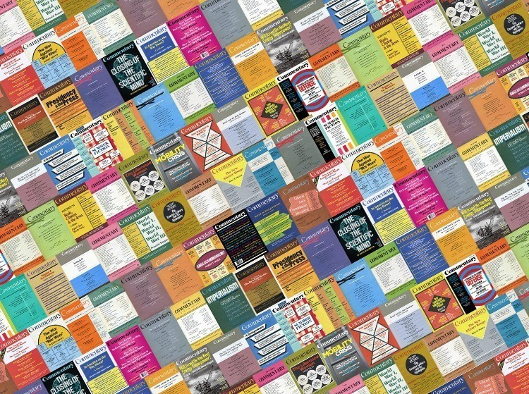 mosaic of Commentary covers over the decades