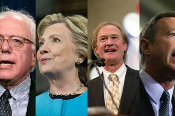 2016 Democratic field