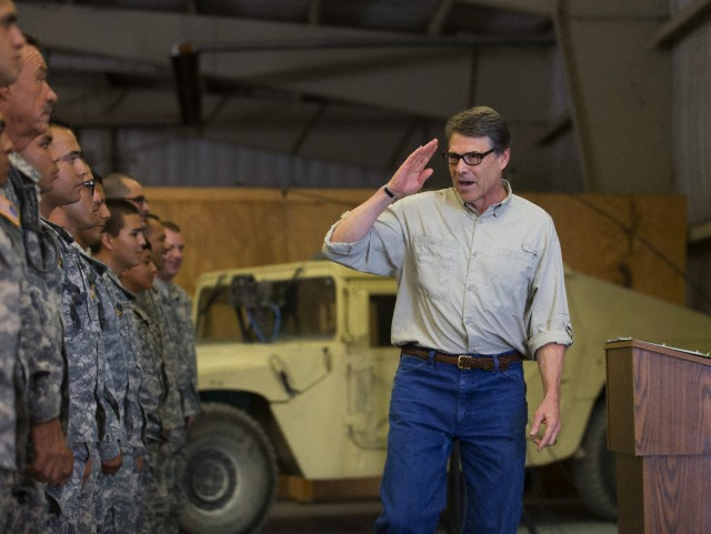 Rick Perry tries again to win his party's presidential nomination.