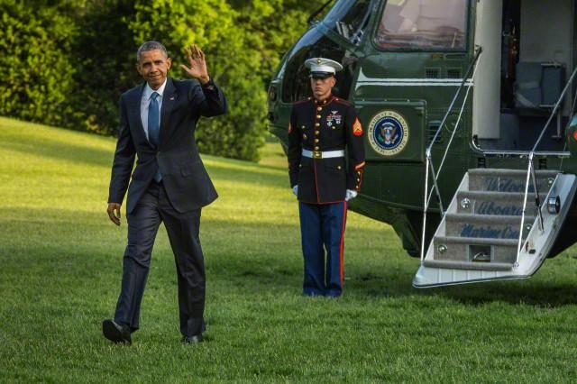 Obama presidency ends