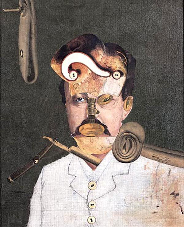Remember Uncle August, the Unhappy Inventor, by George Grosz (1919)