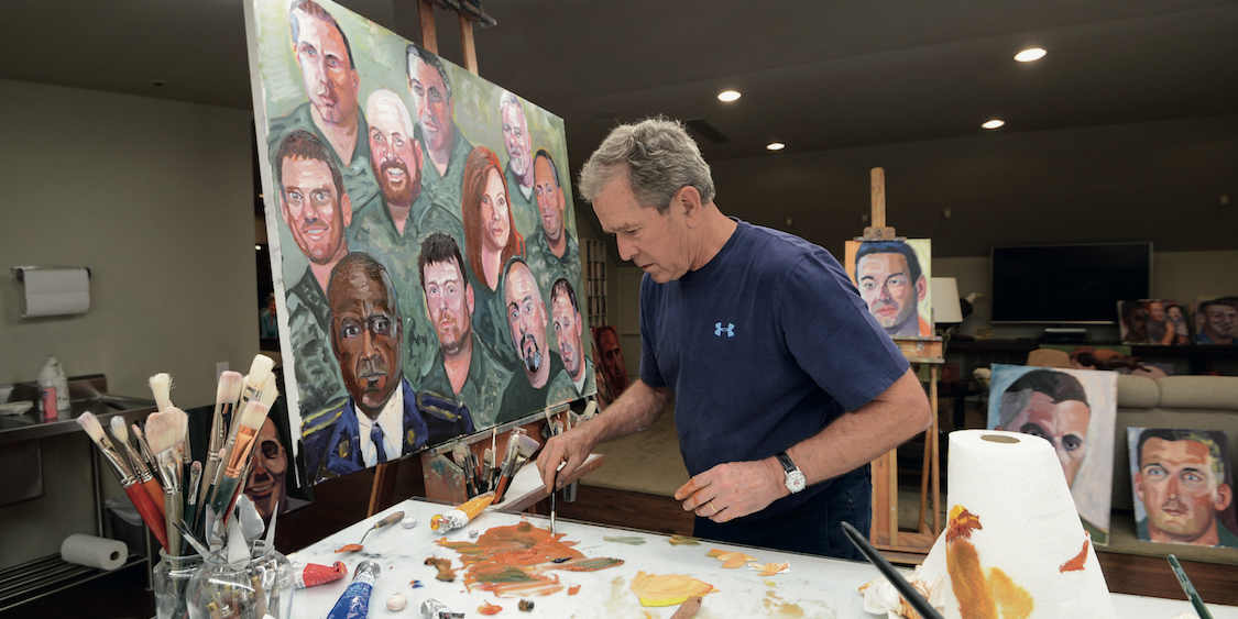 When Presidents Paint