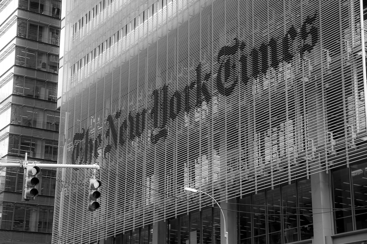 The Freakout Over the New York Times