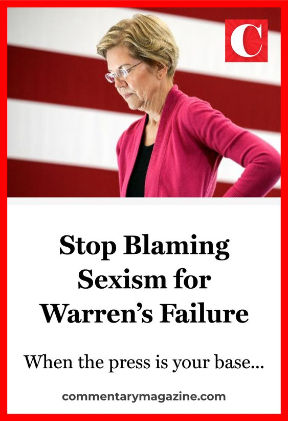 Pin about Elizabeth Warren and sexism in the presidential campaign