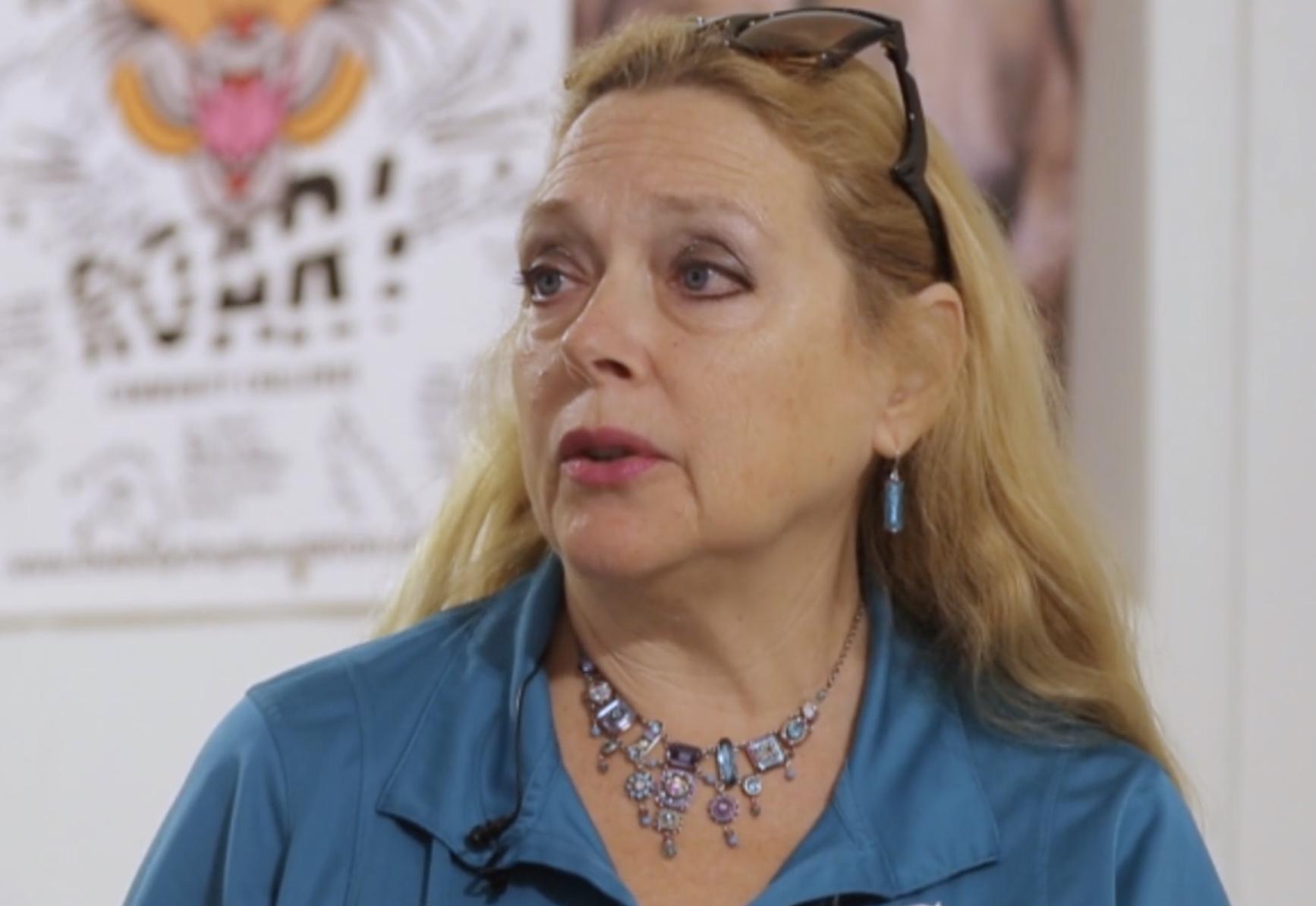 Carole Baskin from Tiger King
