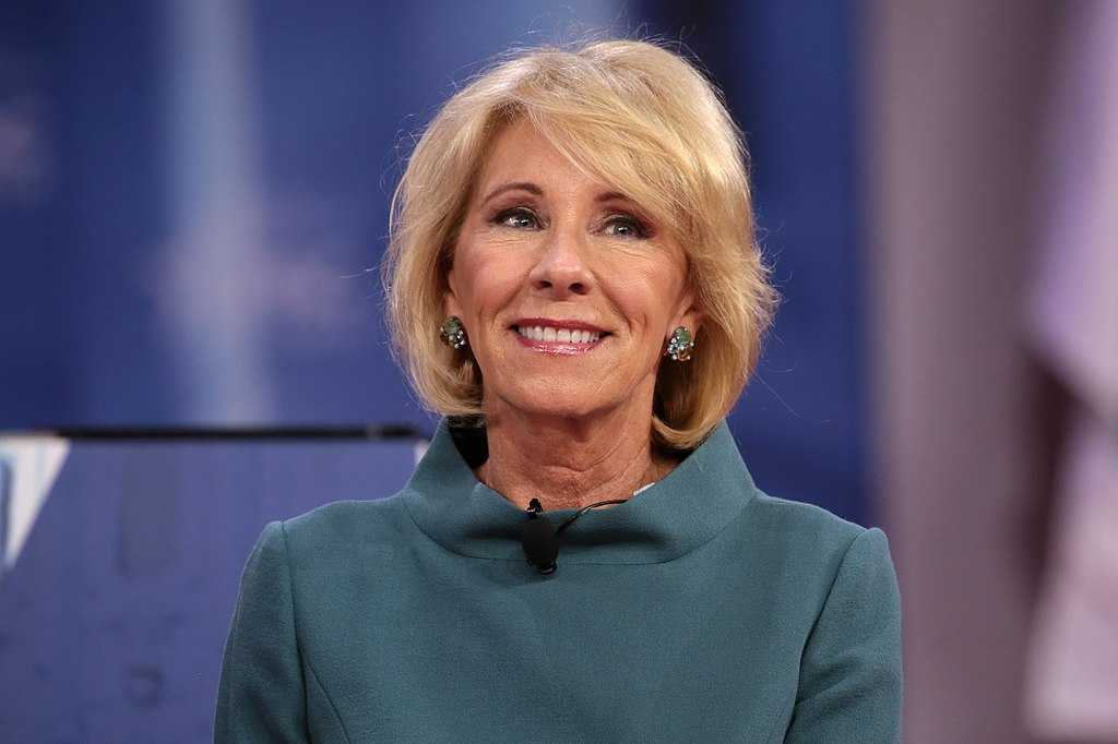 Betsy DeVos Withstood the Press