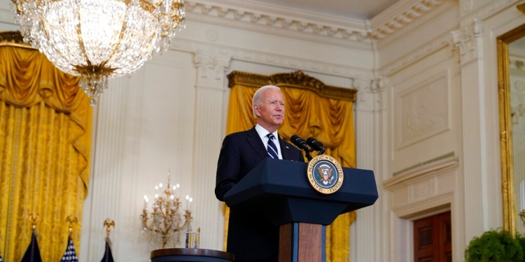 Does Joe Biden Think the Taliban Lost?